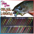 Силиконовая приманка Crazy Fish Cruel Leech