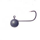 Микро джиг головка без зацепки (мормышка) на крючке Gamakatsu