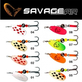 Блесна Savage Gear Caviar Spinner №2/3 вес 6\9,5грамма