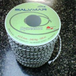 Линь Salvimar Dyneema 2мм\ 240кг -разрывная нагрузка
