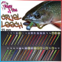 Силиконовая приманка Crazy Fish Cruel Leech