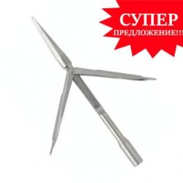 Наконечник Salvi Martin нержавеющая сталь, трёхгранная заточка